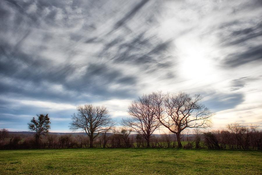 Ciel hivernal