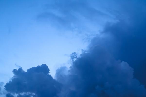 Nuages orage