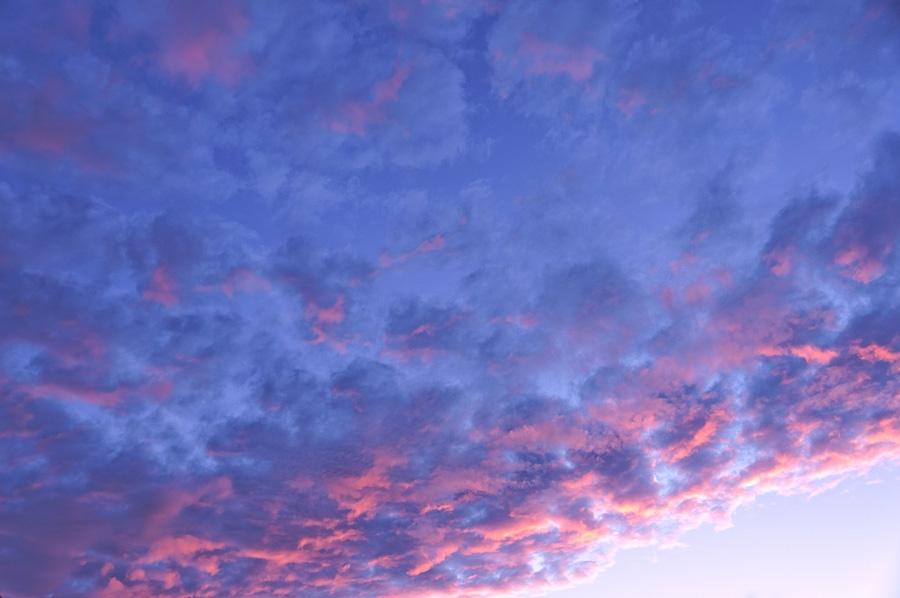 Nuages au Crépuscule