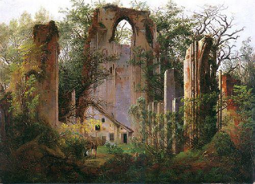 Klosterruine Eldena bei Greifswald 1824/25