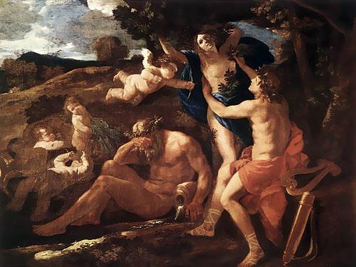 Apollon et Daphnée