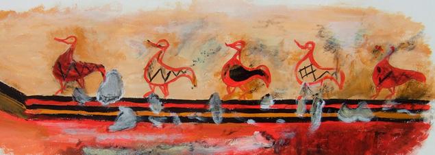 Fresque des canards